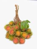 Rambutansfrukt Arkivbilder