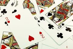 Ramdom cards2 Stock Afbeeldingen