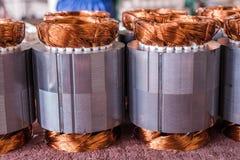 Rame del motore elettrico Fotografia Stock Libera da Diritti