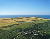 Rame halvö, Cornwall Arkivbilder