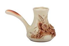 Ramekin de cerámica Foto de archivo