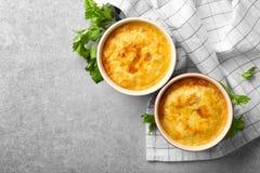 Free Ramekins With Corn Pudding Royalty Free Stock Photo - 106296965