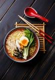 Ramen Asian noodles Royalty Free Stock Photos