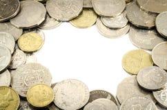 Ramen av myntet Fotografering för Bildbyråer