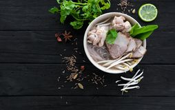 Ramen chineses da sopa fotografia de stock royalty free