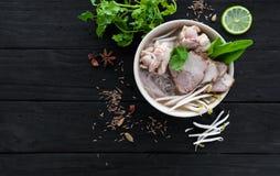 Ramen chinois de soupe photographie stock libre de droits