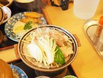 Ramen, comida japonesa Foto de archivo libre de regalías