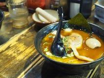 Ramen, comida japonesa Foto de archivo