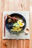 Ramen de miso de poulet Image stock