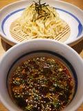 Ramen della tagliatella con minestra Fotografia Stock