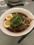 Ramen di Nyc immagine stock