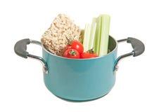 Ramen en verse veggies Stock Foto