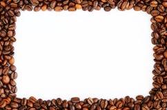 ramen för bönakaffemat inramniner serie Arkivfoto