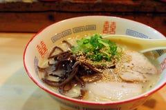 Ramen giapponese Fotografia Stock Libera da Diritti