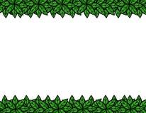 ramen inramniner leavesnaturserie Royaltyfri Fotografi