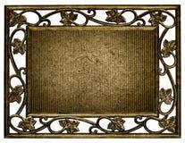 ramen isolerade rostigt Arkivfoto