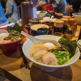 Ramen in Japan. A bowl of delicious Ramen in Tokyo Royalty Free Stock Image