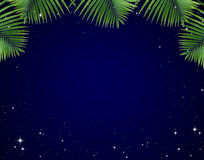 ramen låter vara stjärnor för nattskyen Arkivfoto