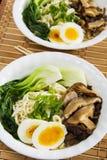 Ramen Mushroom Soup Stock Photography