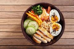 Ramen Noodle. Close Up Stock Photography