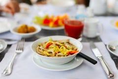 Ramen noodle soup Stock Image
