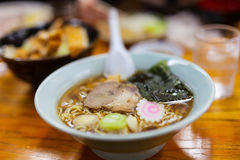 Ramen noodle soup Royalty Free Stock Images