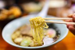 Ramen noodle soup Stock Photography