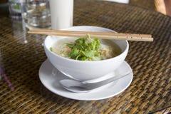 Ramen Noodles With Chopsticks Stock Images
