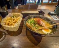 Ramen noodles stock image