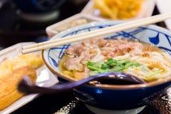 Ramen vers gekookte Japanner Royalty-vrije Stock Afbeeldingen