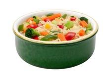 Ramennoedels met Stir Fried Vegetables Stock Foto's