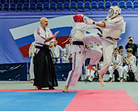 Ramenskoye, Moscow region, Russia- april 2013: the championship Stock Images