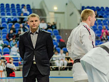 Ramenskoye, Moscow region, Russia- april 2013: the championship Stock Photo