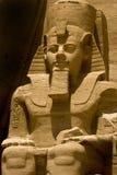 Rameses II a Abu Simbel Immagini Stock