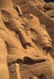 Rameses II koloss Arkivfoto