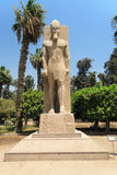 Rameses II at Memphis Stock Images