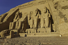 Rameses II temple Royalty Free Stock Images
