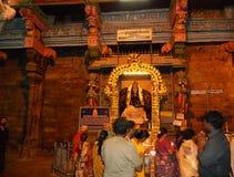 Rameshvaram hindus chapel Stock Image