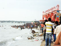 Rameshwaram ghat Stock Images
