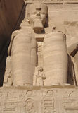 Ramesses at Abu Simbel temples in Egypt Royalty Free Stock Image