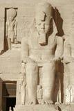 Ramesses aux temples d'Abu Simbel en Egypte photo stock