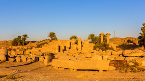 Ramesses II Eastern Temple in Luxor Royalty Free Stock Images