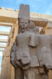 Ramesses II statue in the Precinct of Amun-Re (Karnak, Luxor. Egypt) Royalty Free Stock Photo