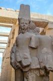 Ramesses II statue in the Precinct of Amun-Re (Karnak, Luxor. Egypt) Royalty Free Stock Photo