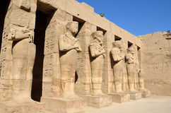 Ramesses III Temple. At Karnak temple complex in Luxor,Egypt Royalty Free Stock Photos