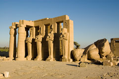 Ramesseum, Luxor, Egypt Royalty Free Stock Photography