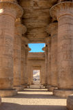 Ramesseum in Luxor, Egypt Royalty Free Stock Photos