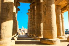 Ramesseum temple, Egypt Royalty Free Stock Photo