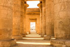 Ramesseum temple, Egypt Stock Photography