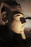 Ramessses II statue Luxor temple Stock Photo
